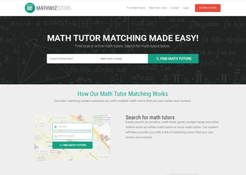 Math Tutor Matching Marketplace